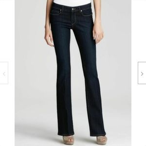 Paige Skyline Bootcut Jeans in Fountain Wash